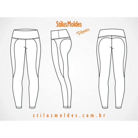 CALÇA FITNESS PUMP UP (FIT-MF39)