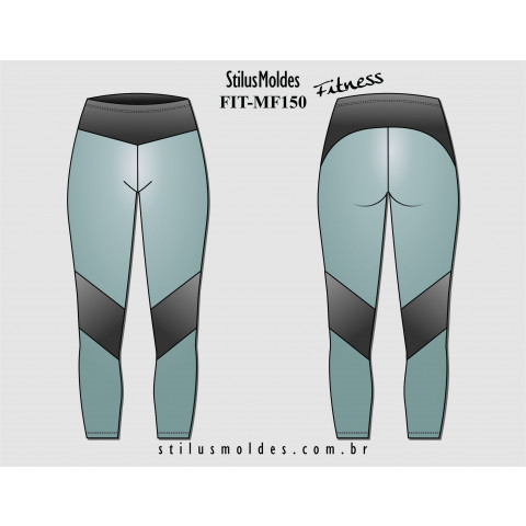 CALÇA LEGGING FITNESS (FIT-MF150)