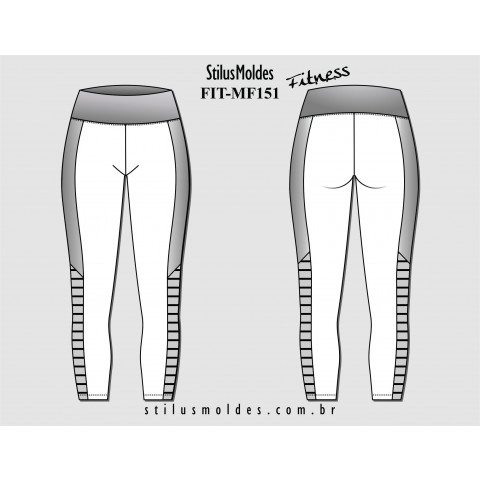 CALÇA LEGGING FITNESS (FIT-MF151)