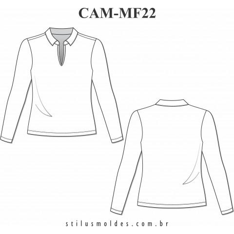 CAMISETA MANGA LONGA (CAM-MF22)