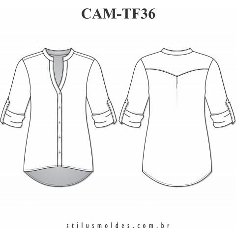CAMISA FEMININA (CAM-TF36)