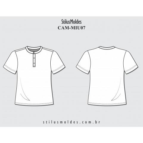 CAMISETA INFANTOJUVENIL GOLA DE PADRE (CAM-MIU07)
