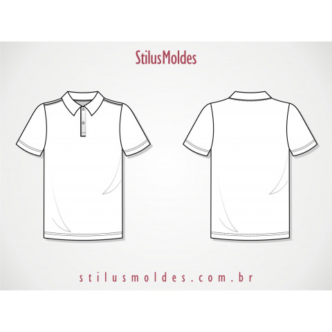 CAMISETA MASCULINA POLO (CAM-MM03)