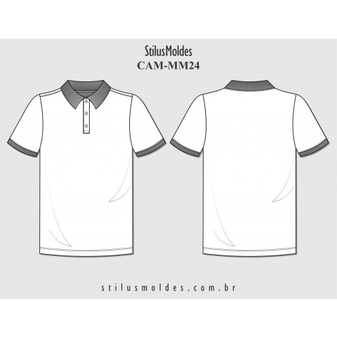 CAMISETA POLO MASCULINA (CAM-MM24)