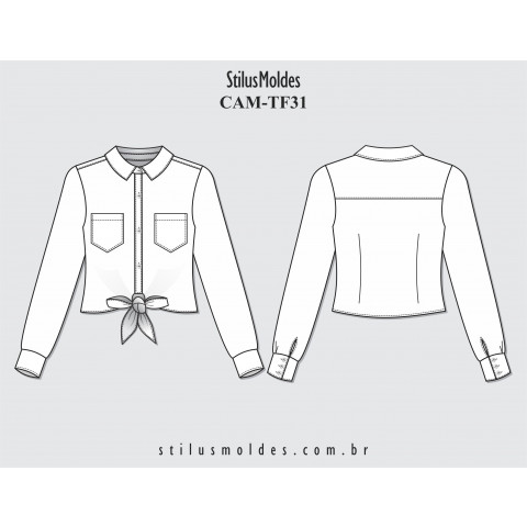 CAMISETE DE AMARRAR (CAM-TF31)