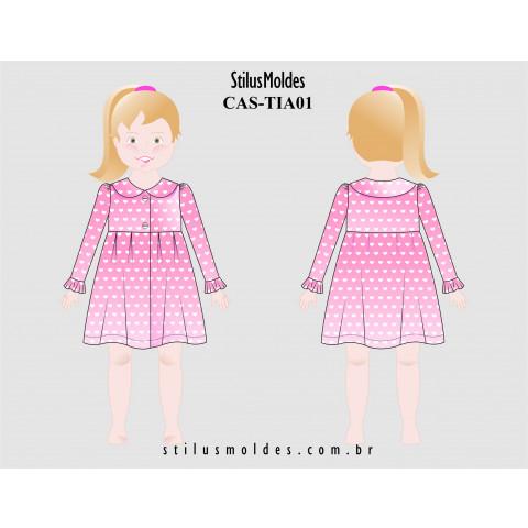 CASACO MENINA INFANTIL (CAS-TIA01)
