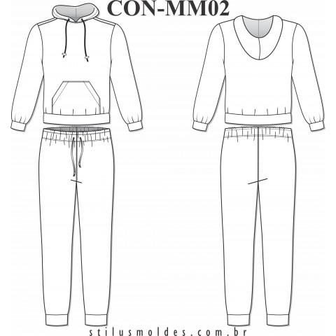 CONJUNTO AGASALHO MASCULINO (CON-MM02)