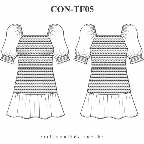 CONJUNTO COM LASTEX (CON-TF05)