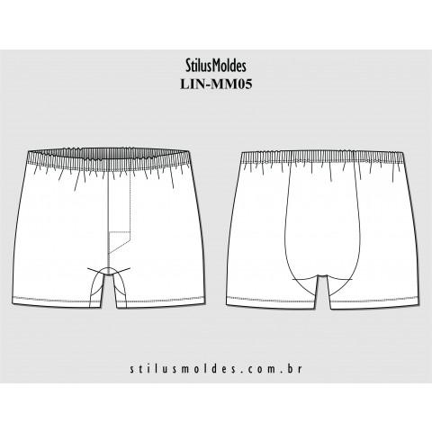CUECA SAMBA CANÇÃO (LIN-MM05)
