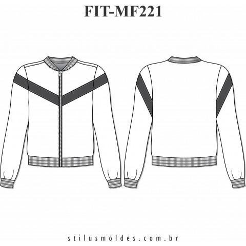 JAQUETA FITNESS (FIT-MF221)