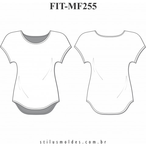 BLUSA FITNESS (FIT-MF255)
