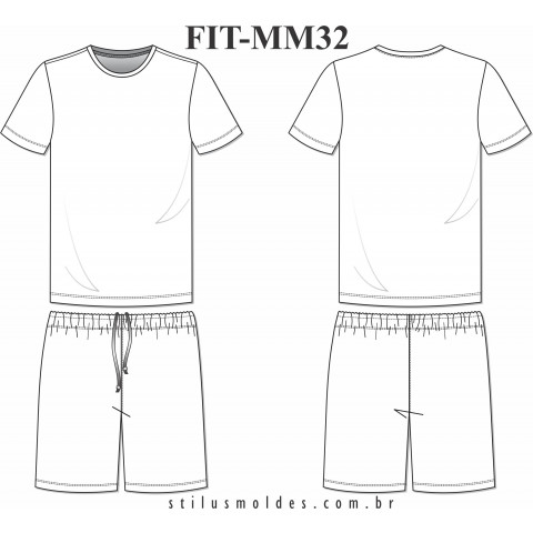 CONJUNTO FUTEBOL MASCULINO (FIT-MM32)
