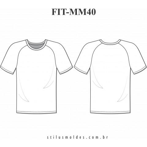 CAMISETA FITNESS (FIT-MM40)
