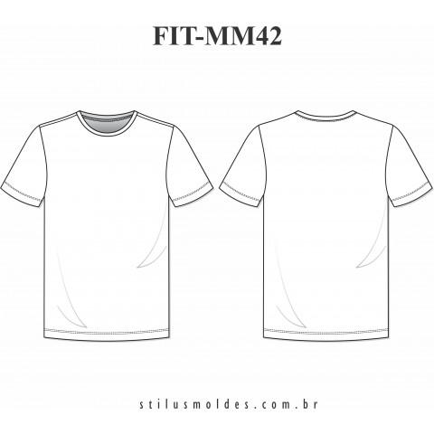 CAMISETA MASCULINA FITNESS (FIT-MM42)