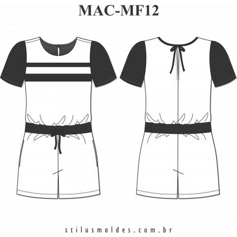 MACAQUINHO BICOLOR ( MAC-MF12)