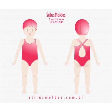 MAIÔ INFANTOJUVENIL NATAÇÃO (FIT-MIA05)