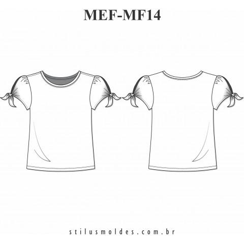 T-SHIRTS FEMININA ( MEF-MF14)