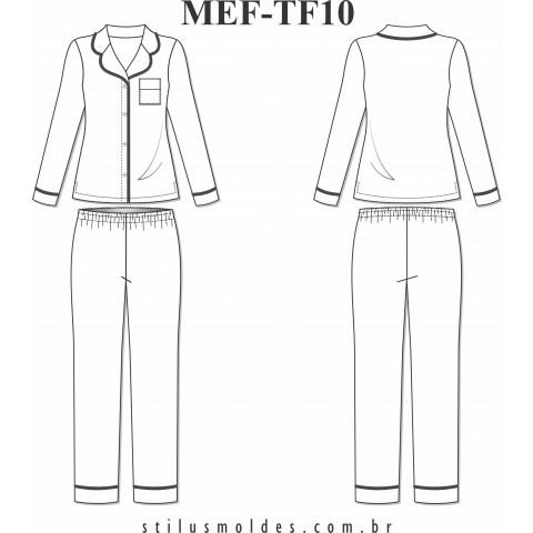 PIJAMA FEMININO ( MEF-TF10)