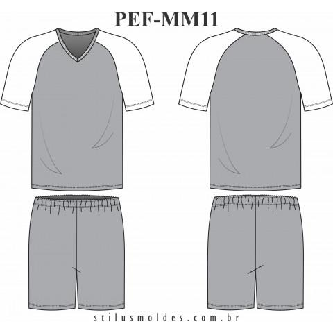 PIJAMA MASCULINO RAGLAN (PEF-MM11)