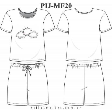 PIJAMA FEMININO (PIJ-MF20)
