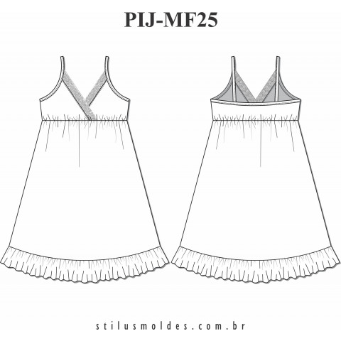 CAMISOLA (PIJ-MF25)