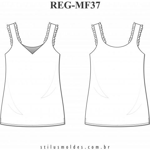REGATA COM BABADOS (REG-MF37)