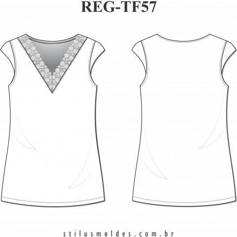 REGATA COM RENDA (REG-TF57)