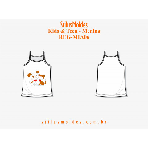 REGATA DE ALCINHA INFANTOJUVENIL (REG-MIA06)