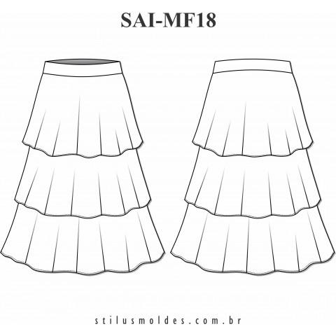 SAIA DE CAMADAS (SAI-MF18)