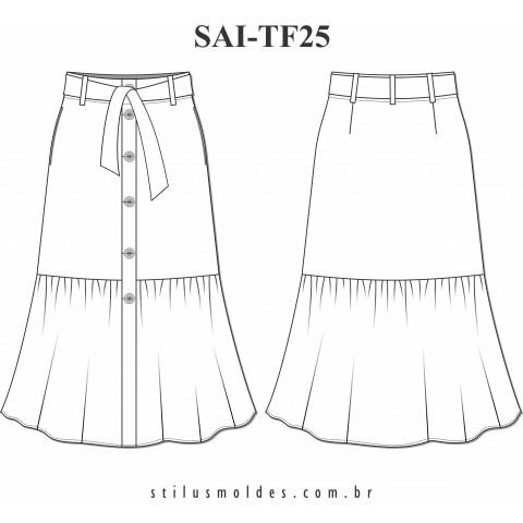 SAIA COM BARRADO (SAI-TF25)
