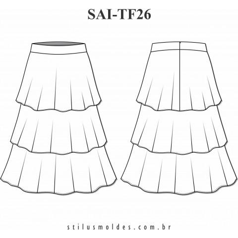 SAIA DE CAMADAS (SAI-TF26)