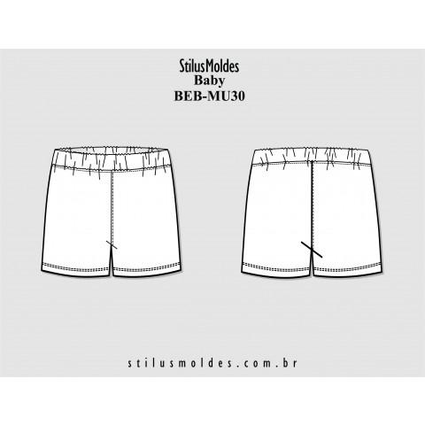 SHORTS BEBÊ (BEB-MU30)