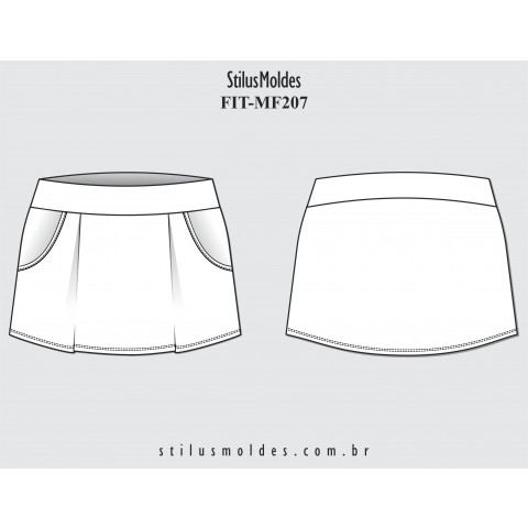 SHORTS SAIA FITNESS (FIT-MF207)