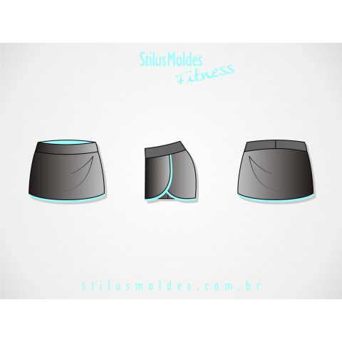 SHORTS-SAIA LATERAL ARREDONDADA (FIT-MF08)