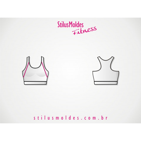 TOP COM VIVO FITNESS (FIT-MF28)