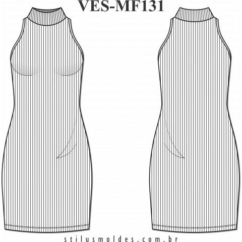 VESTIDO CAVA AMERICANA (VES-MF131)