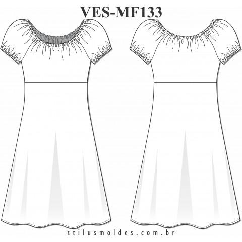 VESTIDO CIGANINHA (VES-MF133)