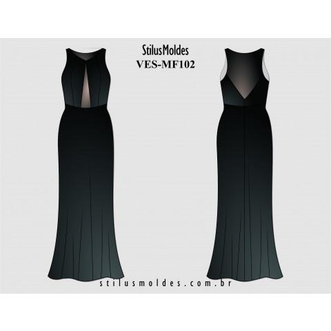 VESTIDO LONGO (VES-MF102)
