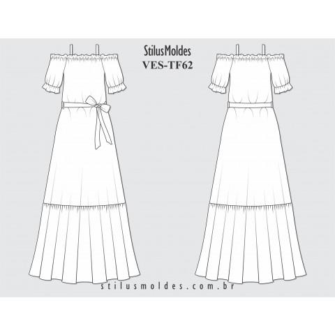 VESTIDO LONGO (VES-TF62)
