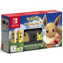 Nintendo - Bundle Switch 32Gb Pokemon Let's GO Eevee