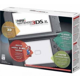 Nintendo - New 3ds XL Black