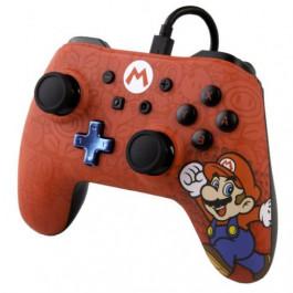 Switch - Pro Controle com Fio - Super Mario Power A