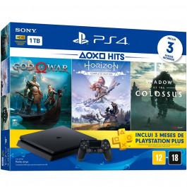 SONY - Bundle PS4 SLIM 1Tb + 3 Jogos - CUH 2115B
