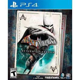 PS4 - Batman Return to Arkham