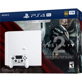 SONY - Playstation 4 Pro 1T Destiny Branco - CUH 7015B