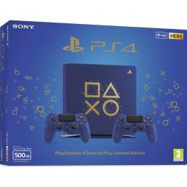 SONY - Bundle PS4 SLIM 500Gb Days of Play - CUH 2116B