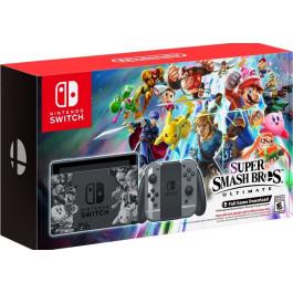 Nintendo - Bundle Switch Smash Bros Gray Joy 32gb