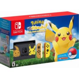 Nintendo - Bundle Switch 32Gb Pokemon Let's GO Pikachu