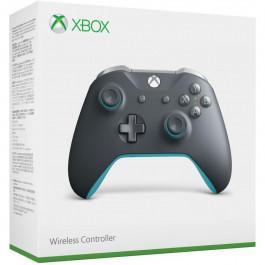 Xbox One - Controle Wireless Cinza + Azul Newest