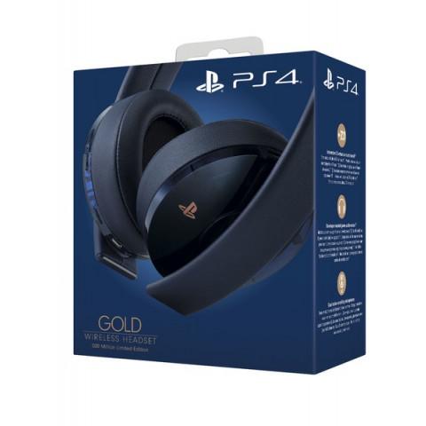 Sony - Gold Wireless Headset 7.1 - 500 Million